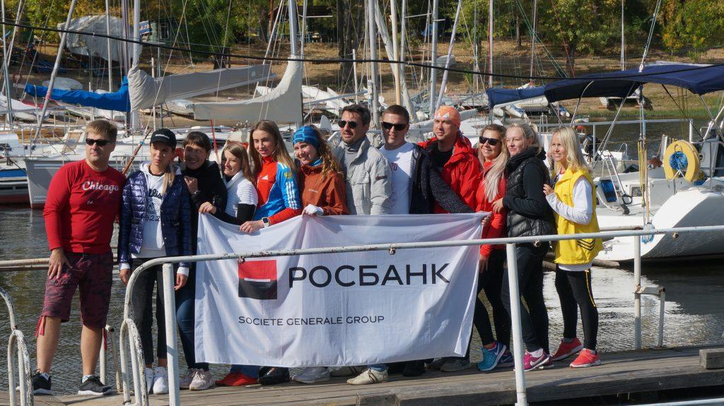 """Регата Росбанка в Самаре в яхт-клубе """"Волга"""""""